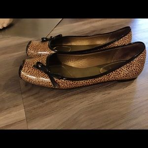 Linea Paola cheetah ballet flat